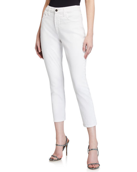 Image 1 of 4: Jen7 by 7 for All Mankind Cropped Skinny Jeans