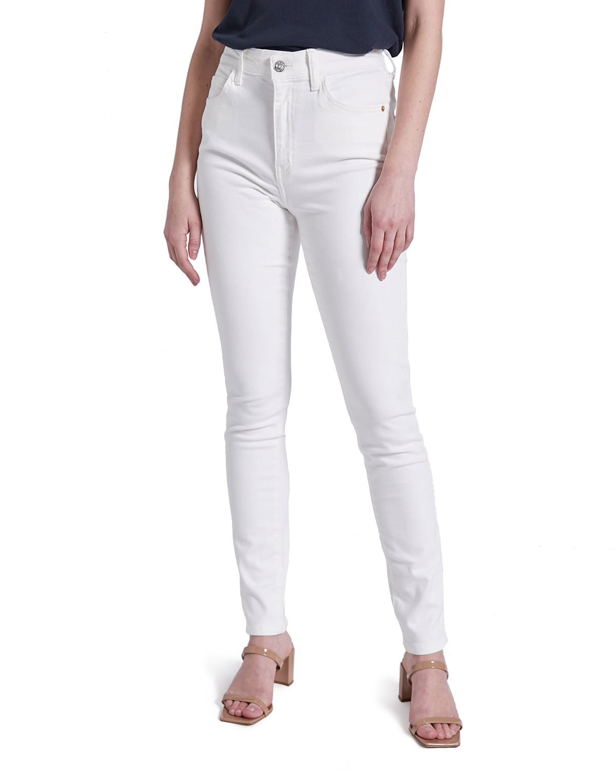 Current/Elliott The Original High-Waist Stiletto Jeans