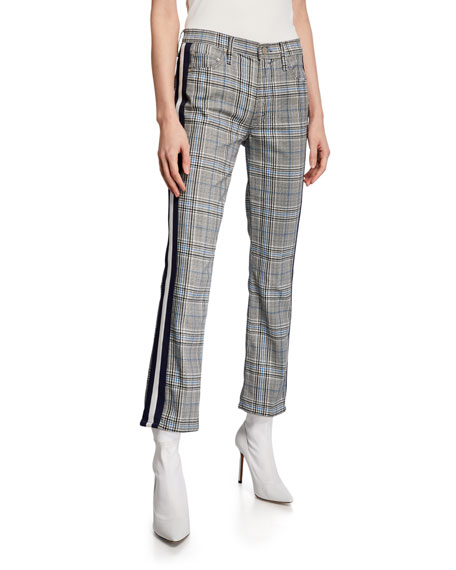 MOTHER The Insider Ankle Straight-Leg Pants