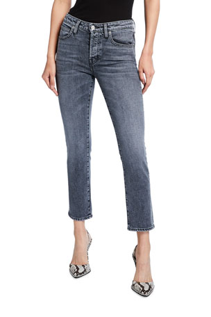SLVRLAKE Lou Lou High-Rise Slim Jeans