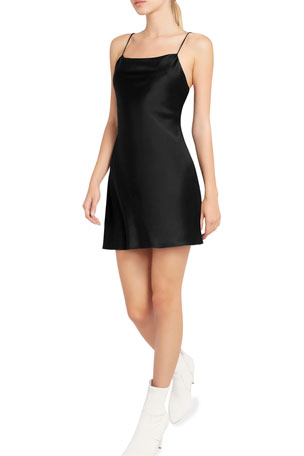 Alice + Olivia Harmony Mini Slip Dress $295.00