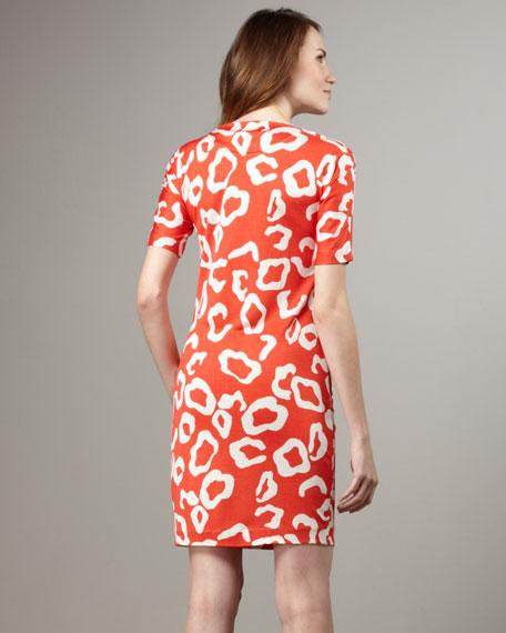 Cyrano Silk Jersey Dress