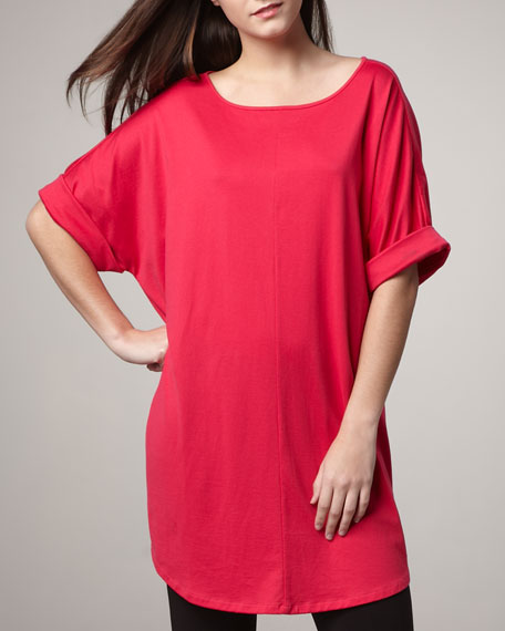 Rolled-Sleeve Tunic