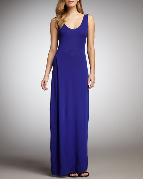 Long Dress, Cobalt