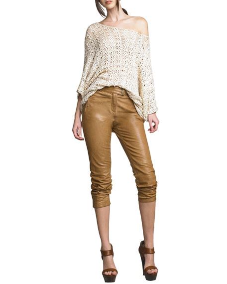 Eli Skinny Leather Pants