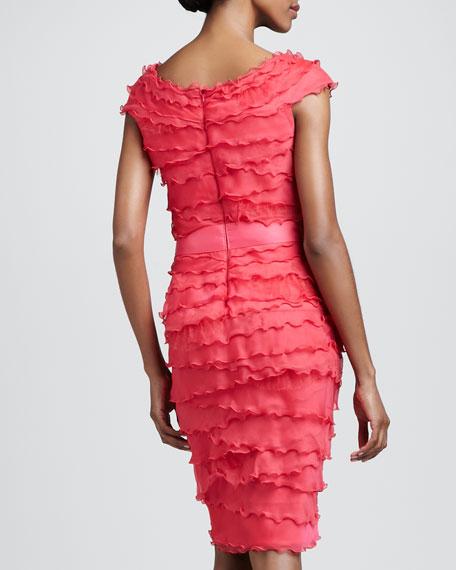 Shutter-Tier Dress