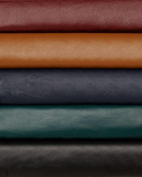 Leather Bolero Jacket