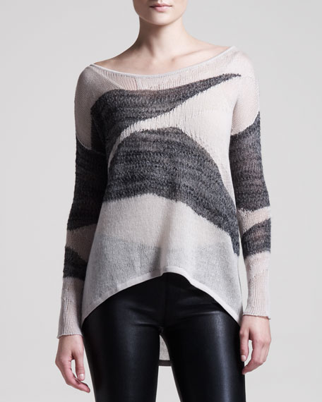 Merging Texture Sweater