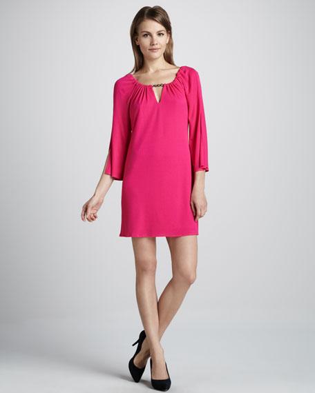 Relaxed Matte-Jersey Dress
