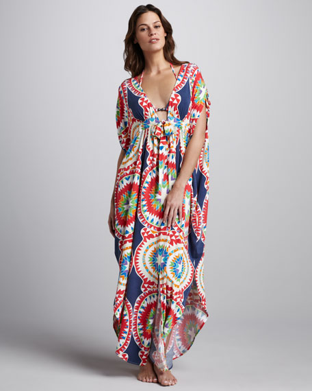 Pow Printed Coverup