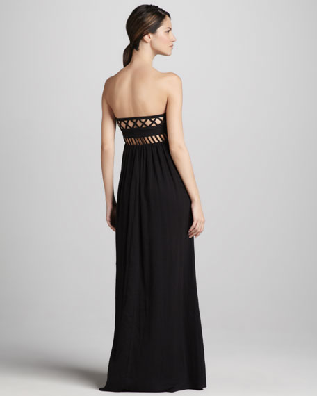 Frida Strapless Maxi Dress.