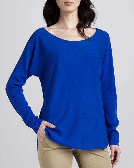 Cashmere Shirttail Sweater