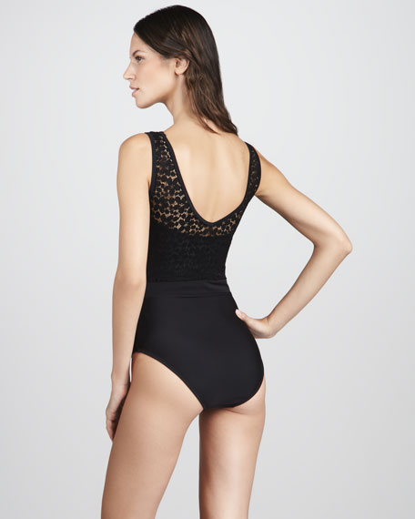 Lace-Tome One-Piece