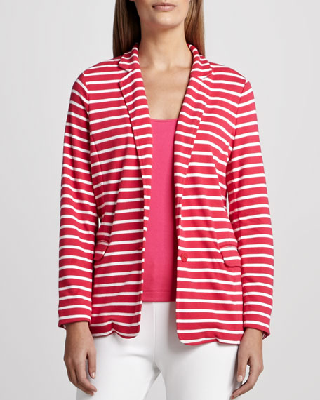 Striped Knit Jacket