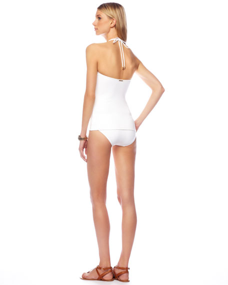 Jewel-Neck Tankini