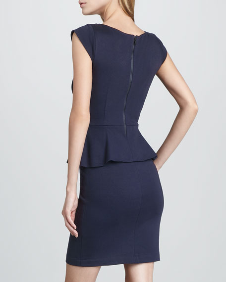 Victoria Ponte Peplum Dress