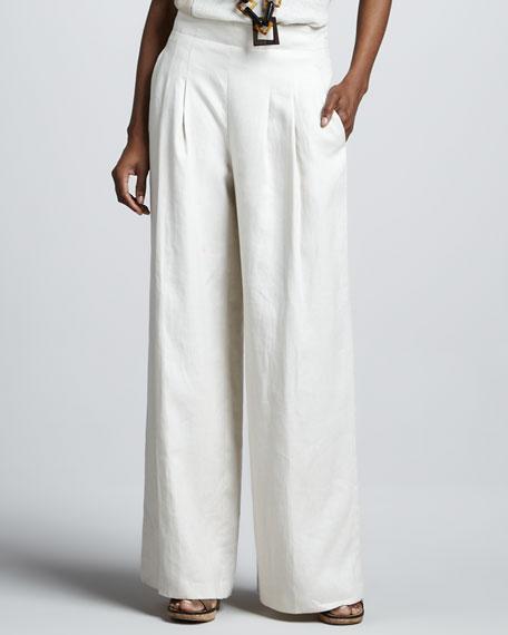 Ludlow Linen Pants, Raffia