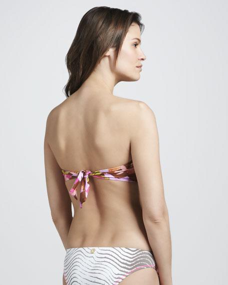 Vintage Boracay Bandeau Bikini Swimsuit