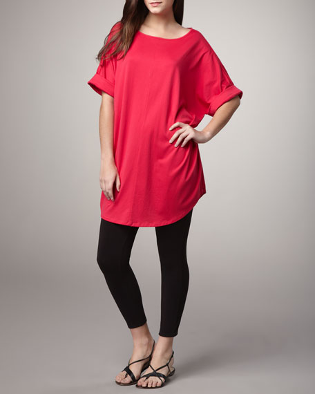 Cropped Stretch Leggings, Petite