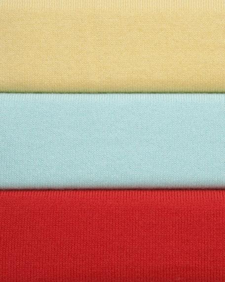 Cotton Scrunched-Sleeve Blazer