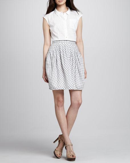 Tiffany Check Skirt