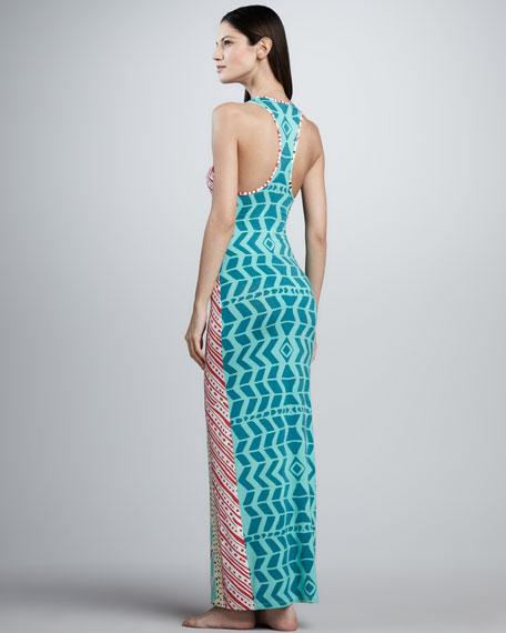 Luau Printed Mai Tank Dress