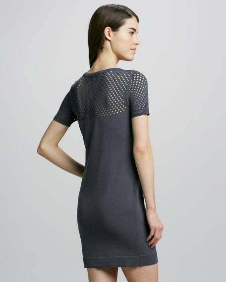 Yulia Net Knit Dress