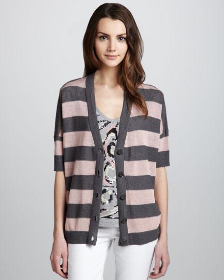 Oversize Jersey Cardigan