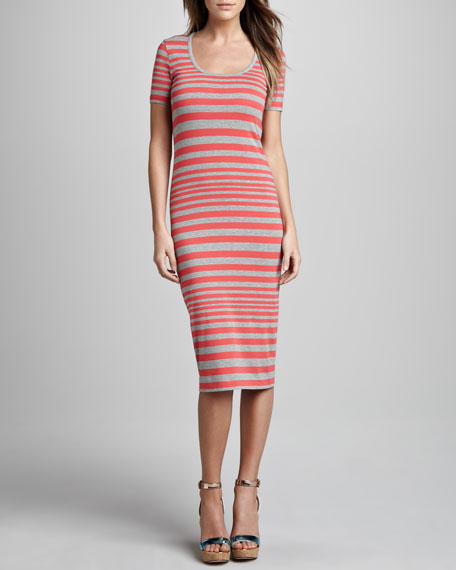 Marissa Striped Knit Dress