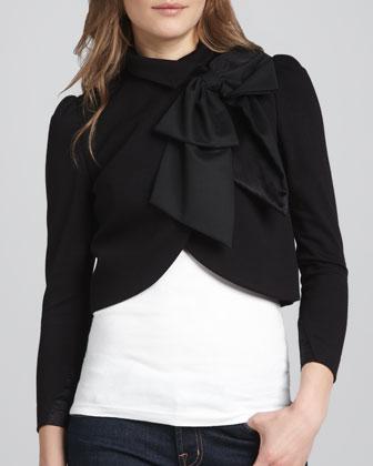 Sale alerts for Alice + Olivia Addison Bow-Collar Jacket - Covvet