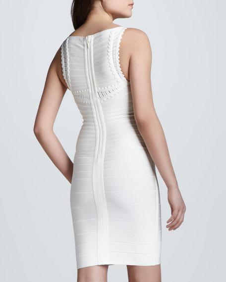 Sleeveless Dress with Cutouts
