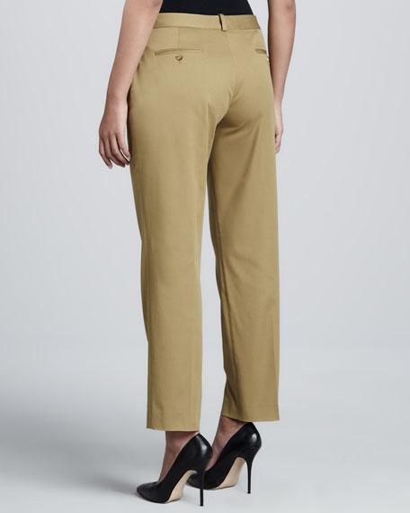 Twill Ankle Slim Pants
