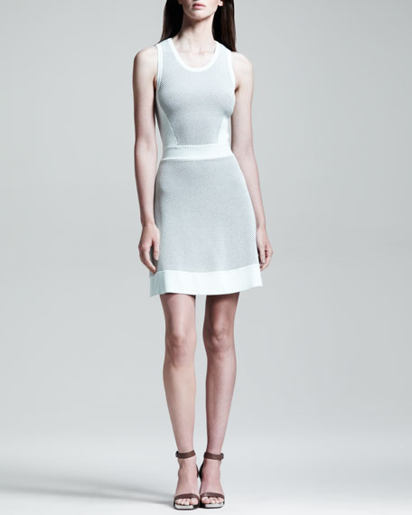 Diem Paneled Knit Dress