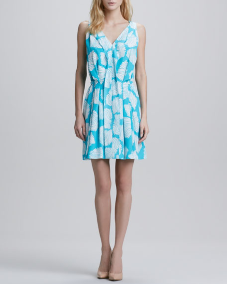 Bahar Sleeveless Printed Dress