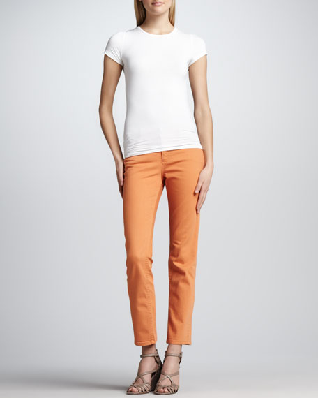 Isabel San Fran Slub Ankle Jeans
