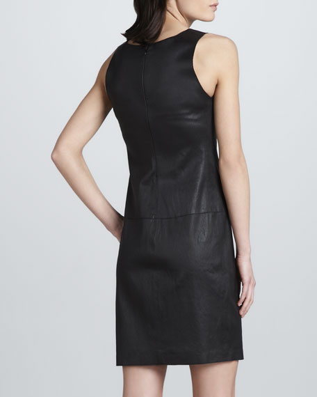 Leather Tank Dress