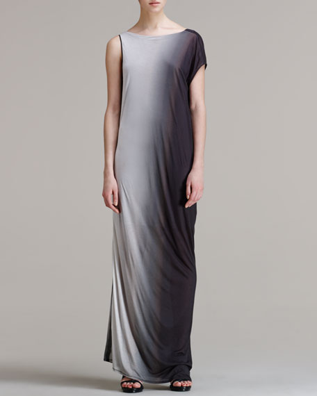 Shadow Ombre Long Dress