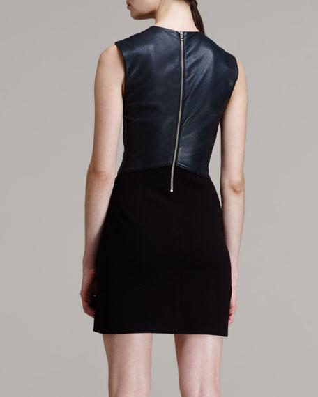 Gala Combo Mini Dress