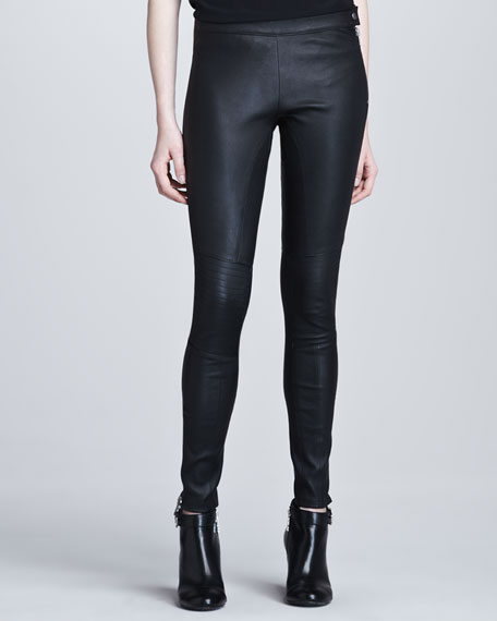 Maxine Skinny Leather Pants