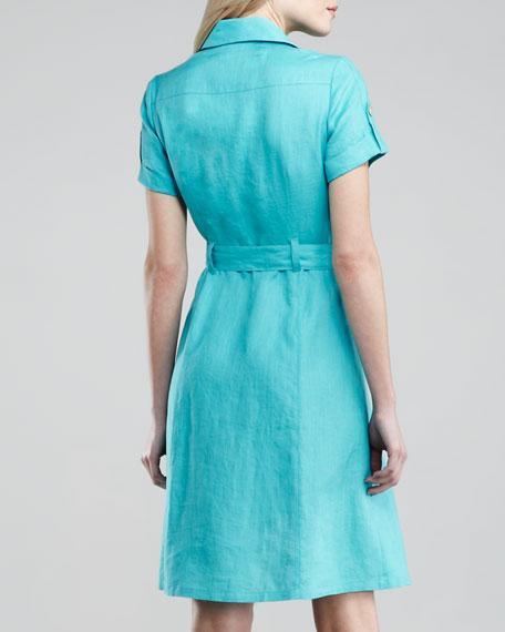 Linen Cargo Dress