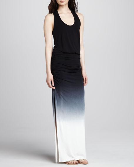 Mel Ombre Maxi Dress, Black