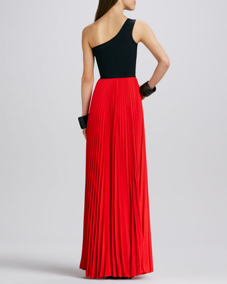 Zabrina Two-Tone Maxi Dress