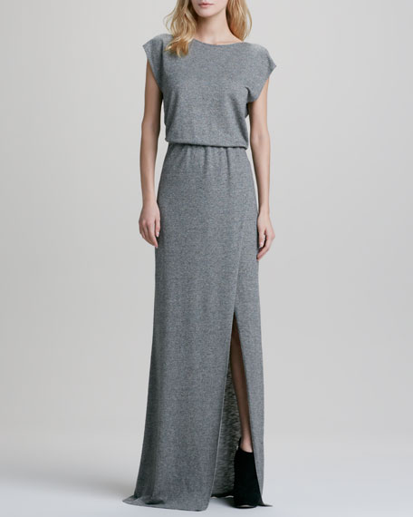 Antonia Blouson Maxi Dress