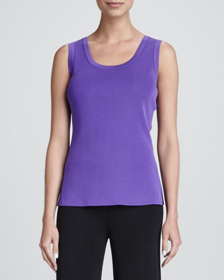Amy Scoop-Neck Tank