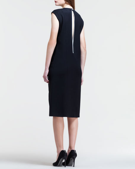 Combo Keyhole-Back Dress