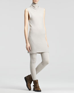 Donna Karan Sleeveless Turtleneck Dress