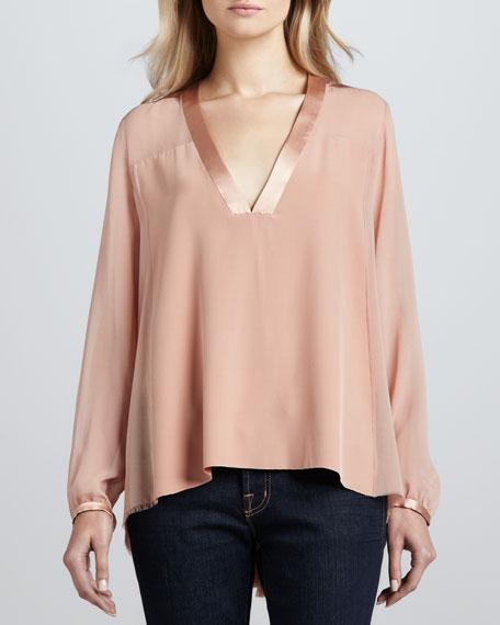 Elizabeth and James Leland Long-Sleeve Top