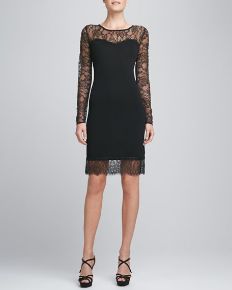 Cashmere & Lace Dress