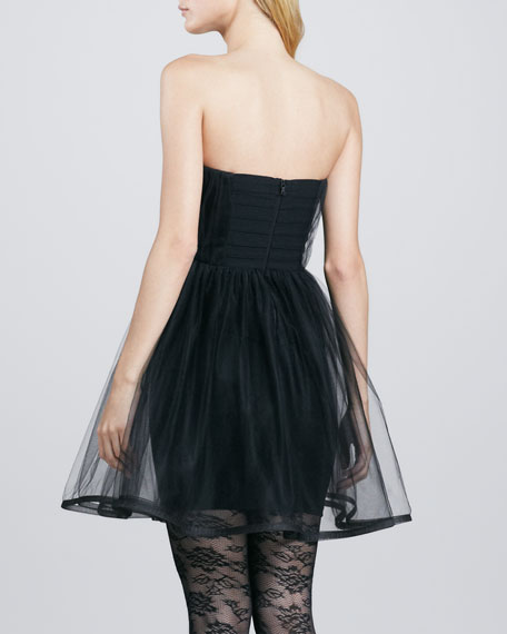 Landi Strapless Tulle Party Dress