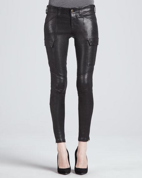 Houlihan Leather Skinny Pants